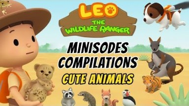 Cute Animals Minisode Compilation - Leo the Wildlife Ranger | Animation | For Kids
