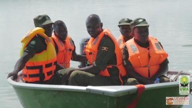Uganda Wildlife Authority   catching poachers in Murchison Falls